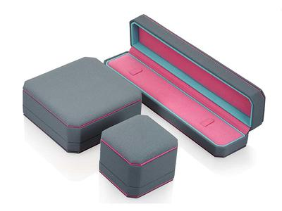 Custom Leather Jewelry Boxes PU Leather Packaging Box
