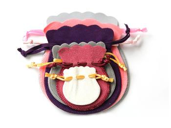 Custom Velvet Jewelry Bags Packaging Manufacturer