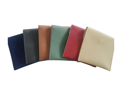 Custom Wholesale Leather Jewelry Pouch Packaging